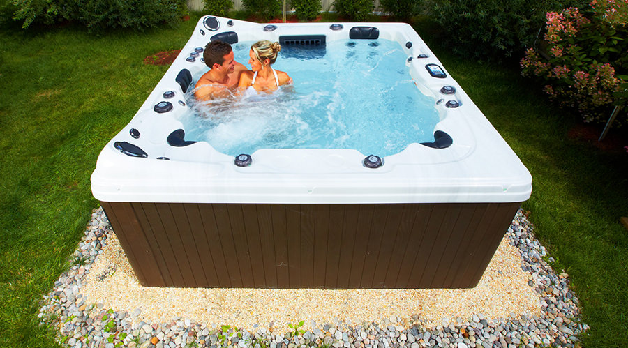 Can You Put A Hot Tub On Grass Or On The Ground Hot Tub Focus